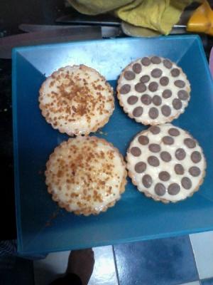 receta tartaletas de crema faciles