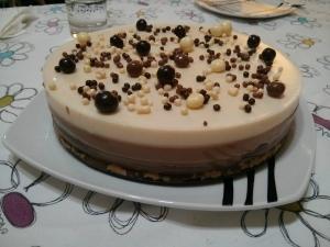 receta Tarta 3 Chocolates