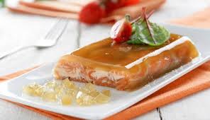 receta Gelatina de cava con salmón