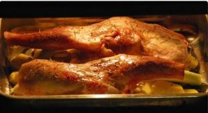 receta Paletilla de cordero al horno.