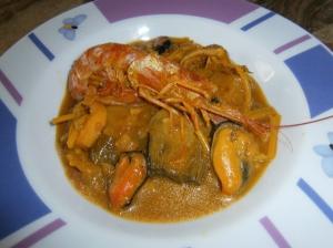receta Fideos a la Cazuela