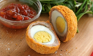 receta Scotch Egg