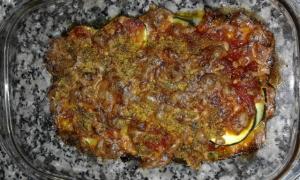 receta Calabacín al horno