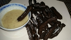 receta CHURROS DE GALLETA OREO