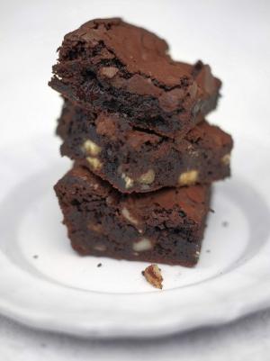 receta Brownies jugosos de Jamie Oliver