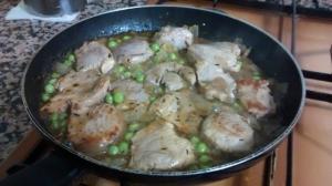 receta Solomillo de Cerdo con Cebolla
